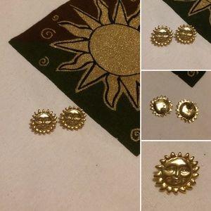 🦋2/$10 3/$15 4/$18 5/$20 Vintage Sun Earrings